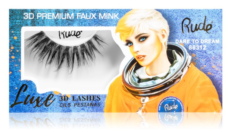 Gene false Rude Cosmetics Luxe 3D Lashes