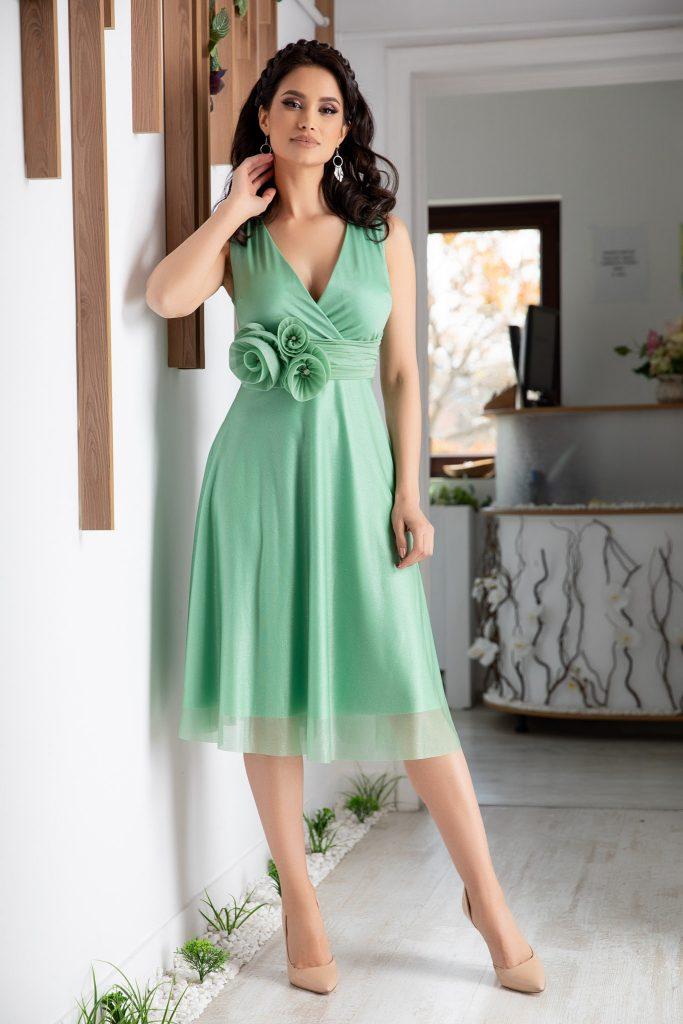 rochii de nunta verzi