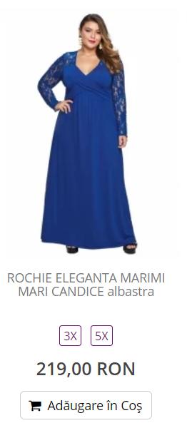 rochii elegante plinute