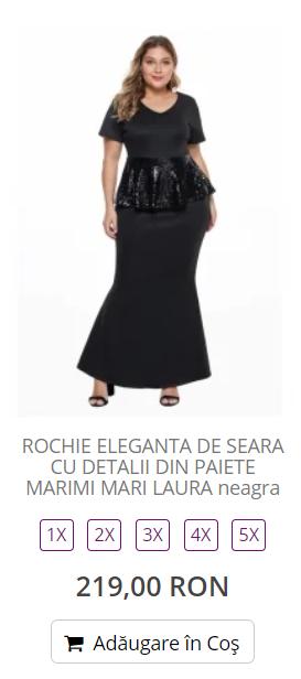 rochii xxl