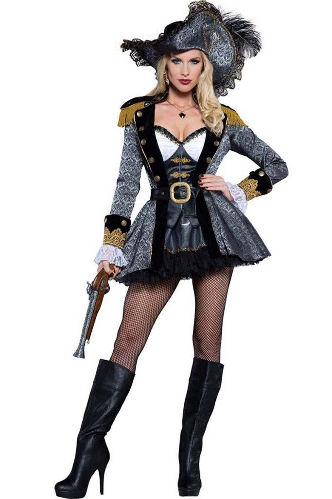 Costume Halloween pirat