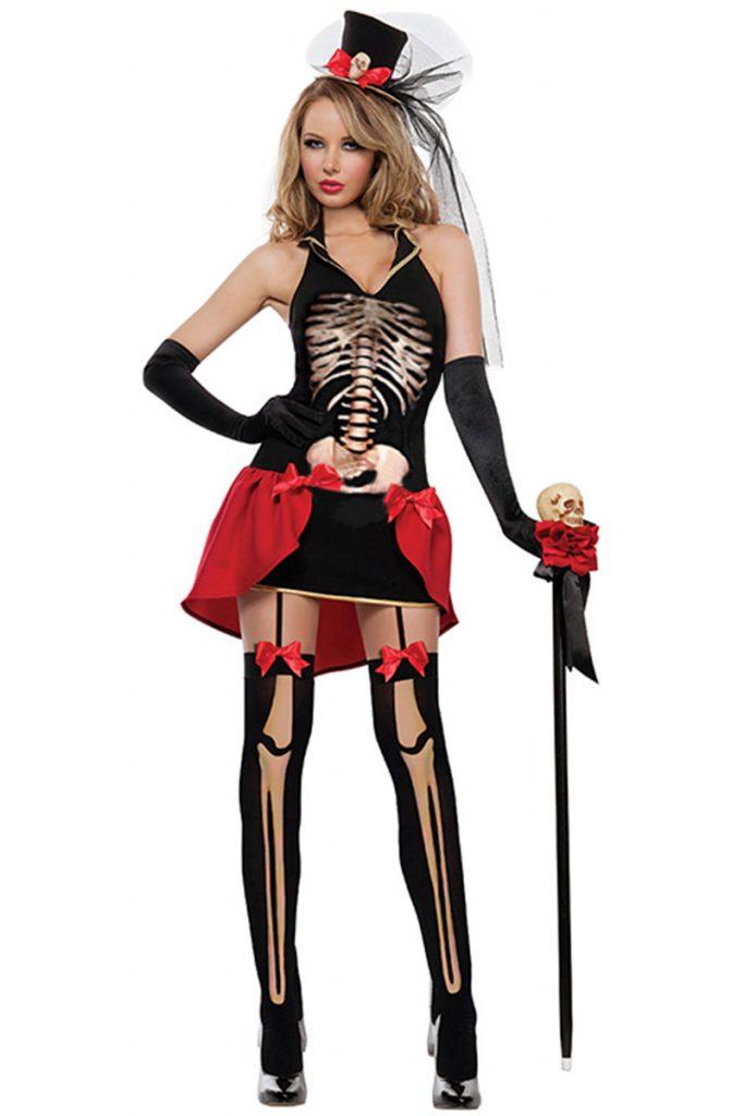 Costum Halloween schelet