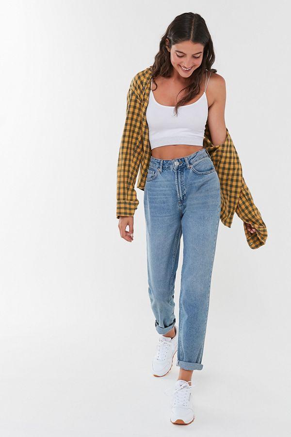 jeansi dama mom fit