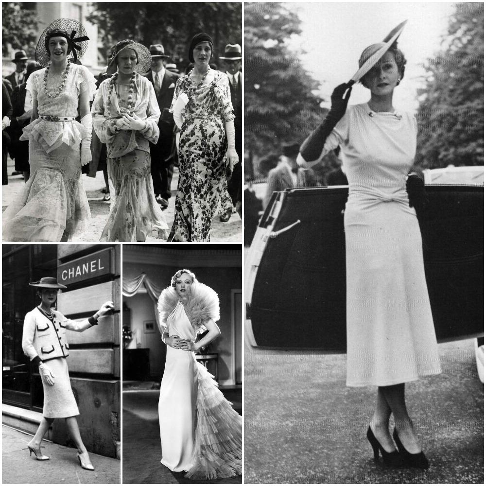 moda anii 30