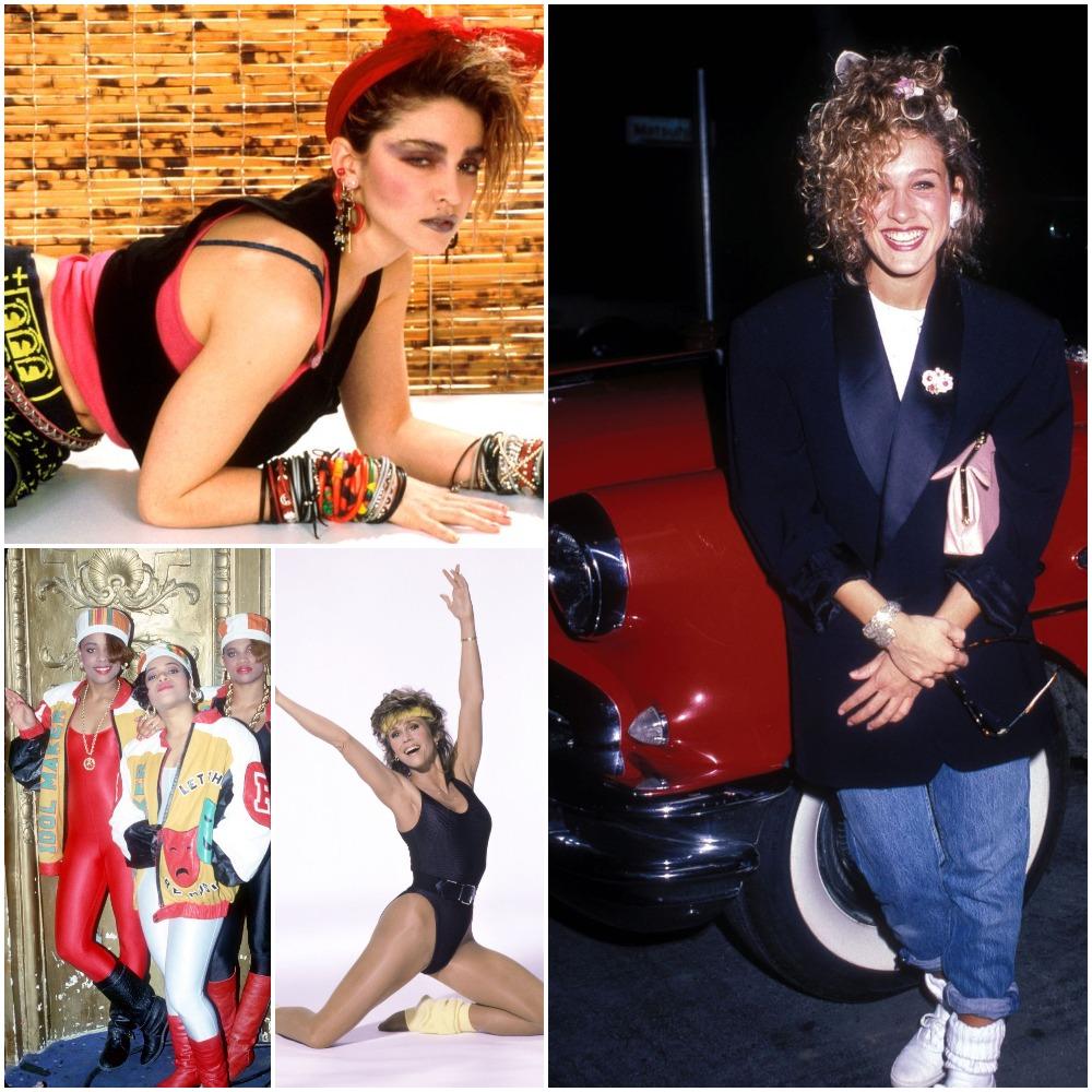 moda anii 80