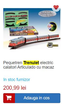 tren electric