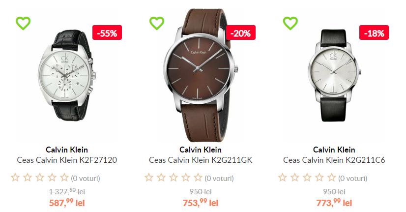 Ceas Calvin Klein barbati