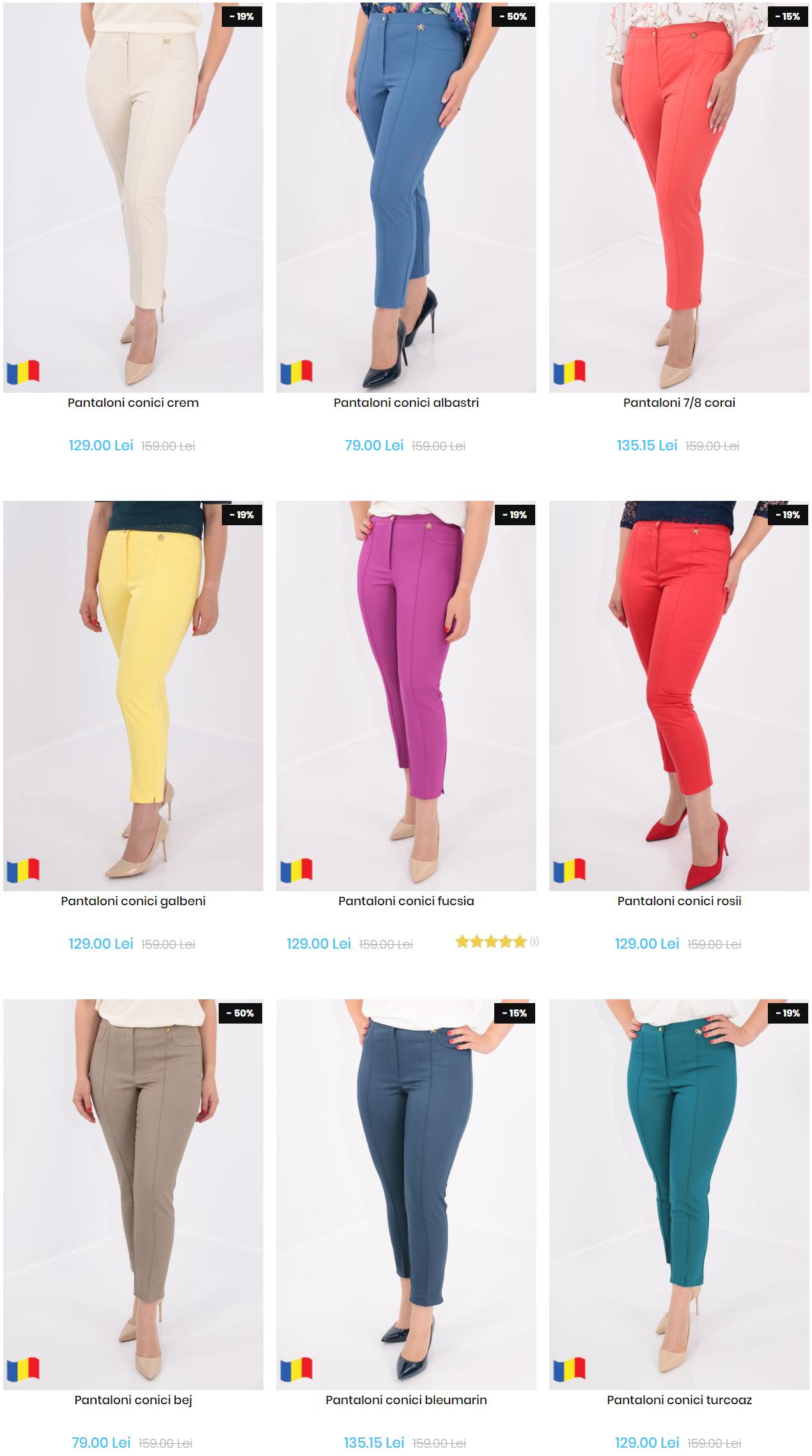 pantaloni-plus-size