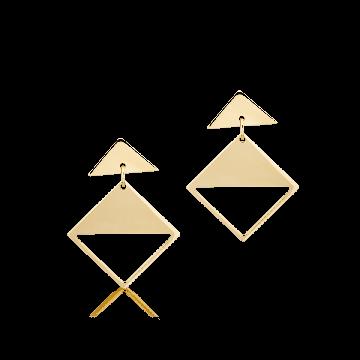 cercei aur