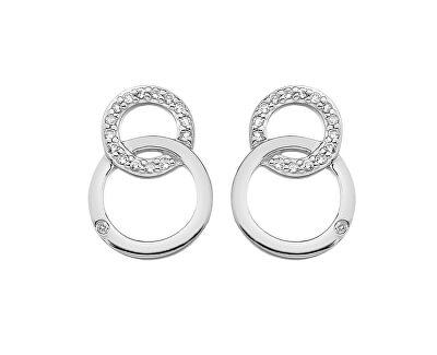 cercei argint eleganti