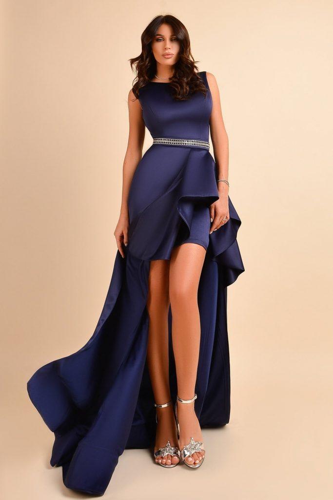 rochie de seara cu trena