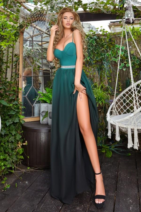 rochie lunga eleganta