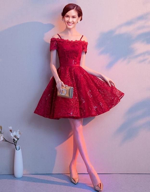 rochie de seara scurta eleganta