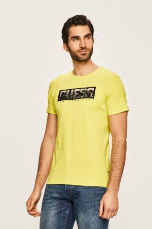 tricou galben barbati
