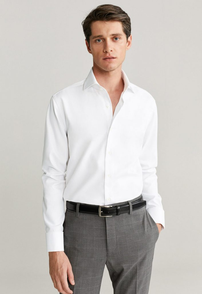 Camasi albe barbati