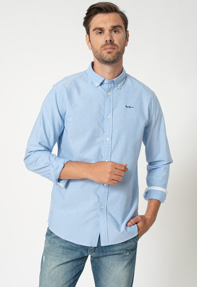 Camasi albastre barbati