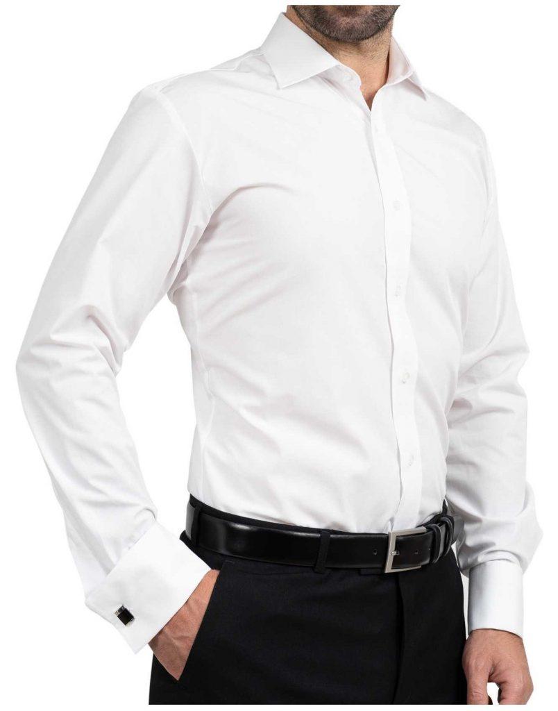 Camasi barbati albe