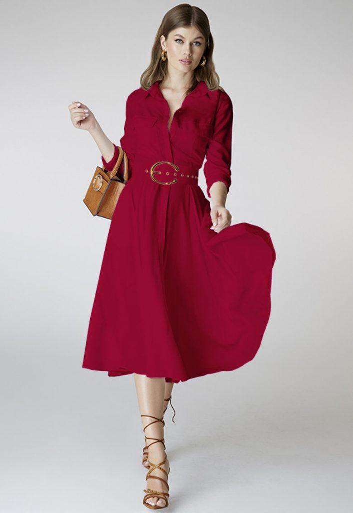 rochii cu maneci lungi
