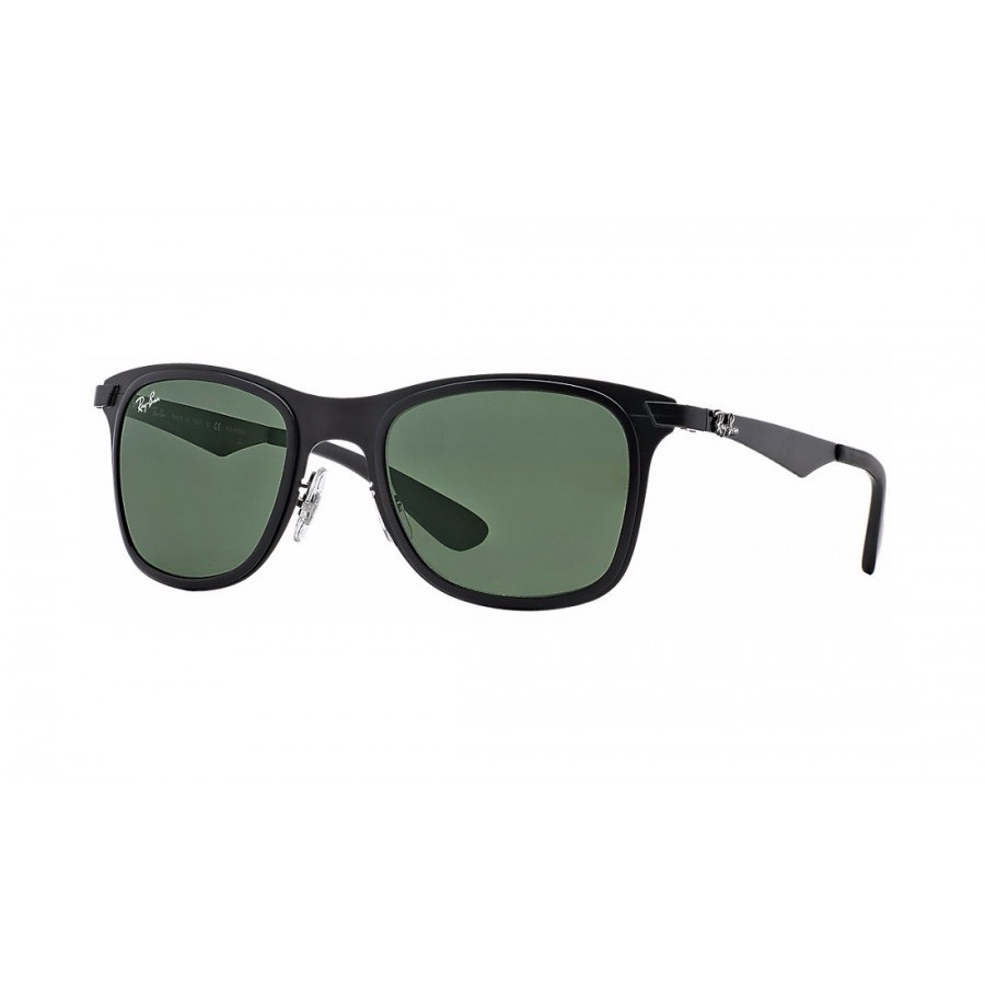Ochelari de soare unisex Wayfarer Flat Metal Ray-Ban