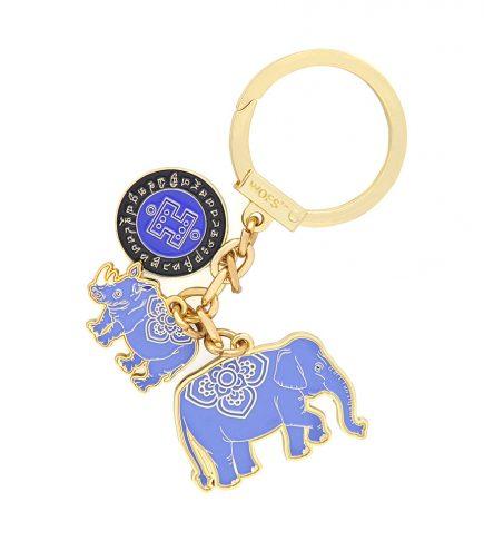 Amuleta de protectie impotriva furturilor cu elefant si rinocer 2021