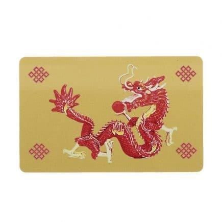 remedii feng shui Dragon Rosu cu bila de foc, impotriva conflictelor si nodul mistic