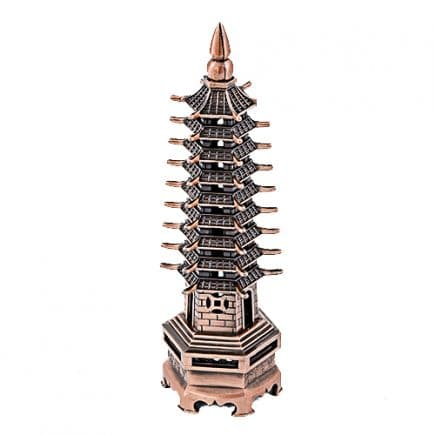 Pagoda celor noua nivele din metal