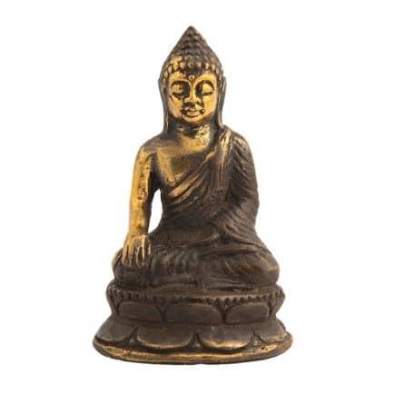 Statueta cu Buddha medicinei din metal