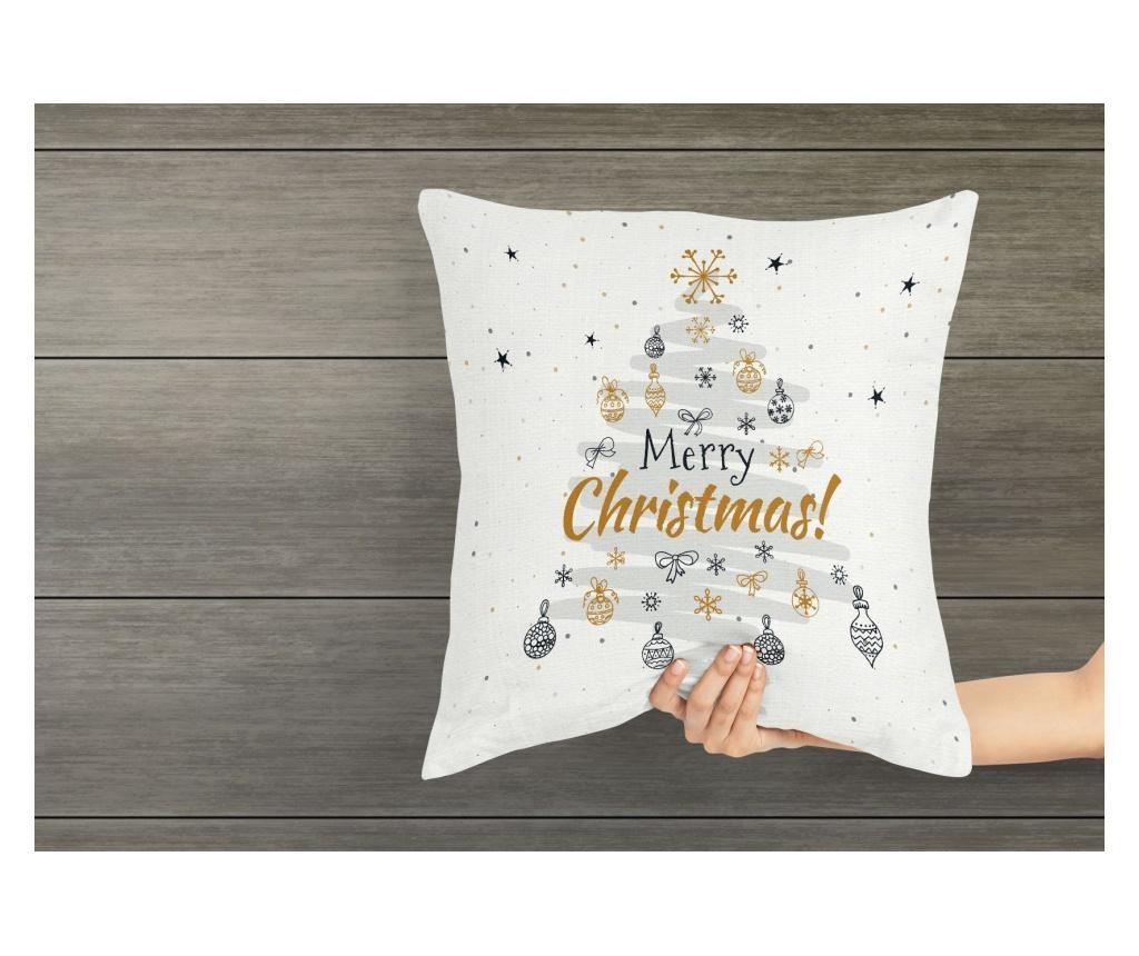 Fata de perna 45x45 cm Evmila, Merry Christmas