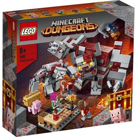 LEGO Minecraft - Batalia pentru piatra rosie