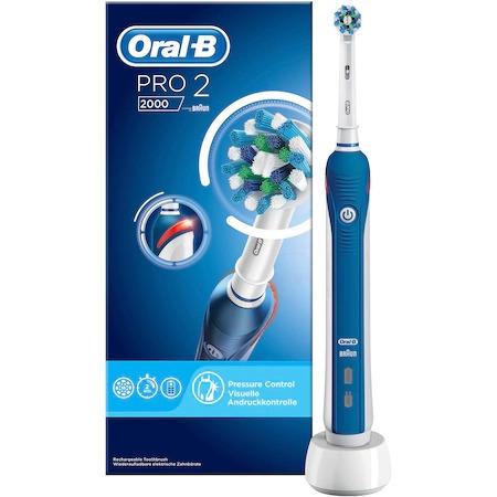 Periuta de dinti electrica reincarcabila Oral-B PRO 2 2000 Cross Action