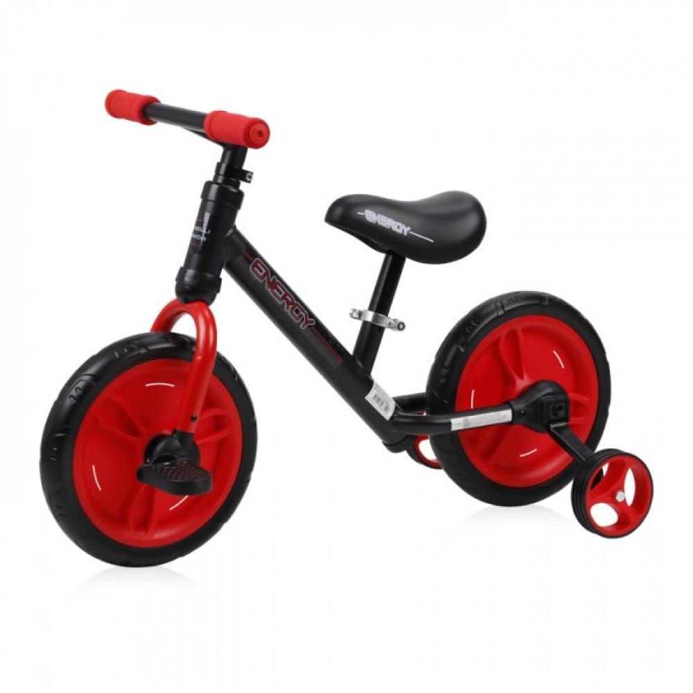 bicicleta 2 in 1 energy black