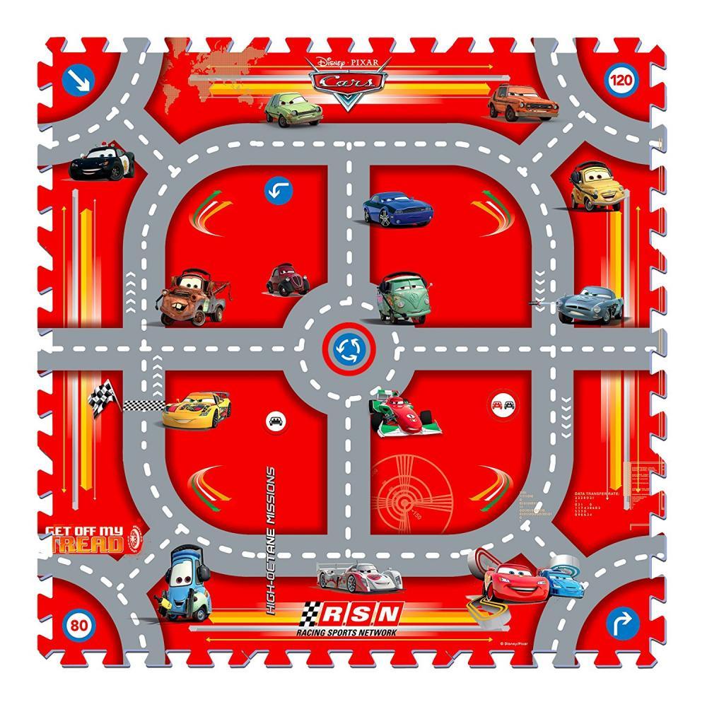 Covor puzzle din spuma Cars
