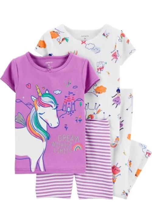 pijama unicorn fete