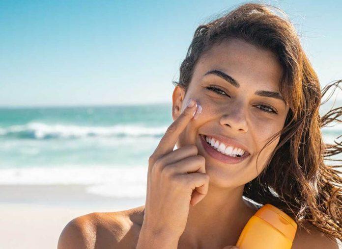 crema protectie solara fata