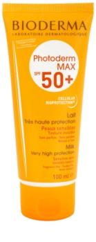 Crema protectie solara fata Bioderma Photoderm Max crema solara pentru tenul sensibil SPF 50+