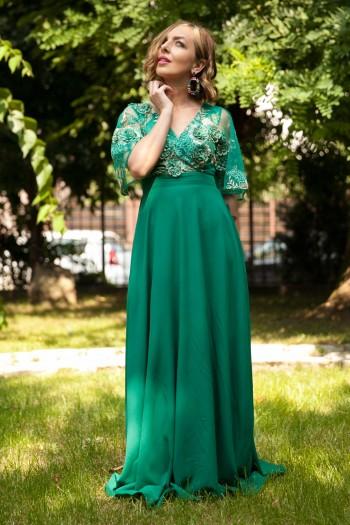 rochie-lunga-din-voal-i-dantela-3d-ema-verde-2
