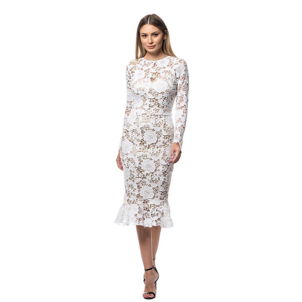 rochii elegante de seara din dantela