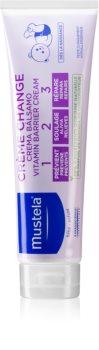 crema-tratament impotriva iritatiilor provocate de scutece Mustela