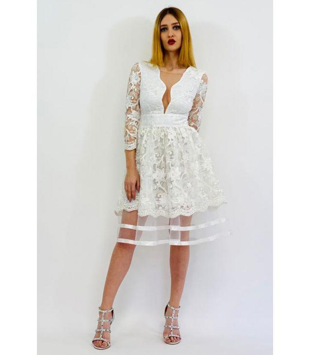 rochie de cununie civila